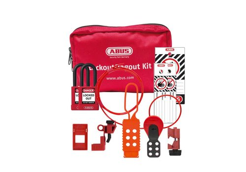 Filled Lock-out pouch SL Bag 120 Electrical