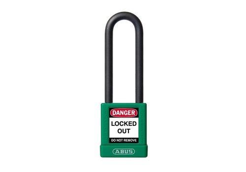Aluminium Sicherheits-vorhängeschloss mit grüne Abdeckung 74/40HB75 GRÜN