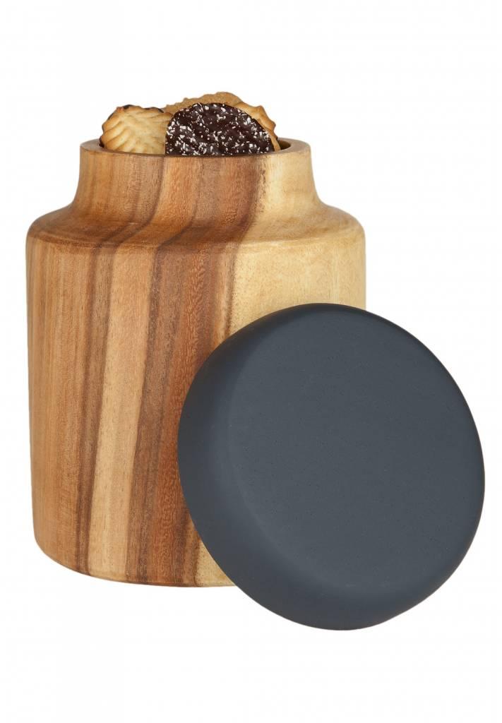 kinta beh lter mit deckel aus holz wohnbeiwerk. Black Bedroom Furniture Sets. Home Design Ideas