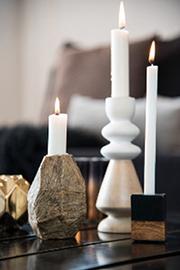 kerzenst nder jetzt im onlineshop entdecken wohnbeiwerk. Black Bedroom Furniture Sets. Home Design Ideas