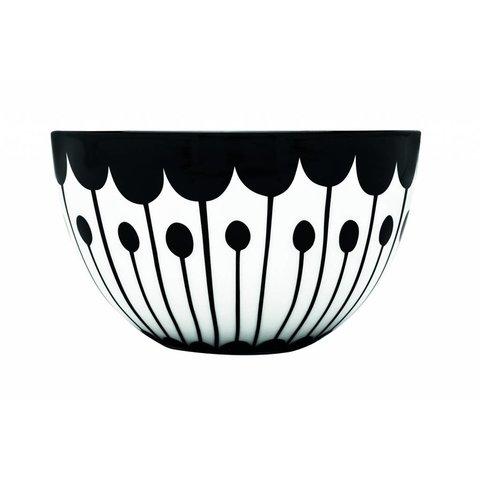 Schale weiß / schwarz aus Porzellan M2