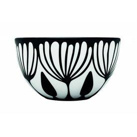 frjor Schale weiß / schwarz aus Porzellan M4