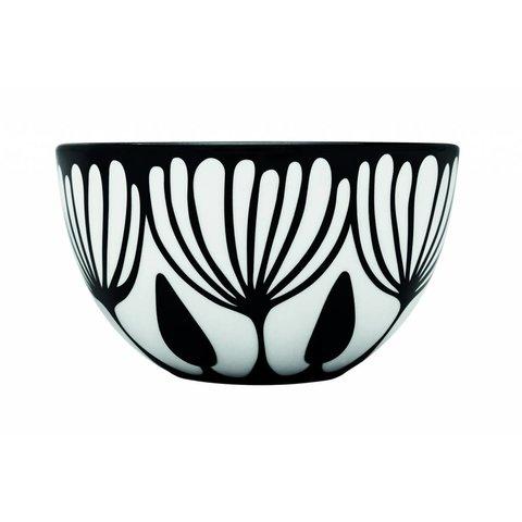 Schale weiß / schwarz aus Porzellan M4