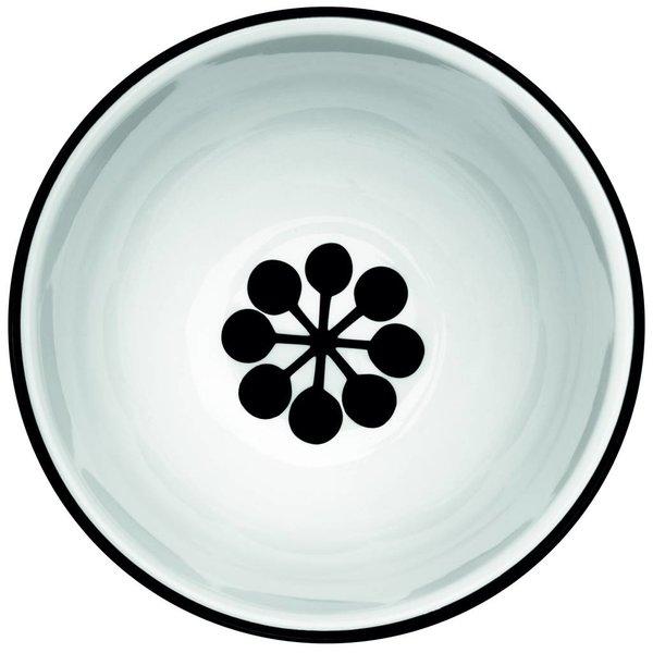 frjor Schale weiß / schwarz aus Porzellan M5