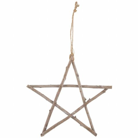 Stern aus Zweigen