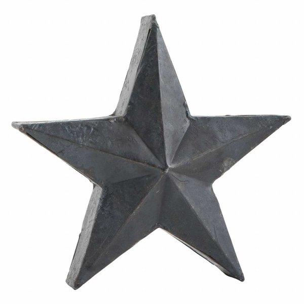 IB LAURSEN Stern schwarz im Antik-Look aus Metall