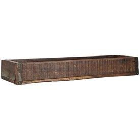 IB LAURSEN Langer Holzkasten  antik aus Indien
