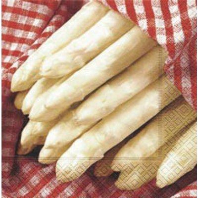 Servetten Fresh asperges 33 x 33 cm - Copy
