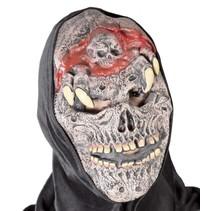 Halloween Masker Horror met capuchon volledig