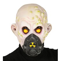 Halloween Masker Nuclear Zombie volledig