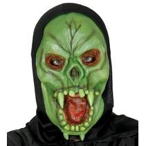 Halloween Masker Vampier met capuchon volledig