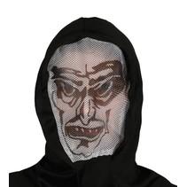 Halloween Masker Vampier Capuchon volledig