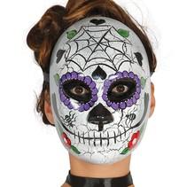 Mexicaans Masker Dia de los Muertos Man voorkant