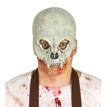 Halloween Masker Schedel Alien Deluxe half