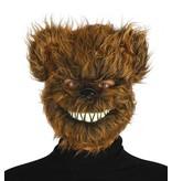 Halloween Masker Duivel Beer voorkant