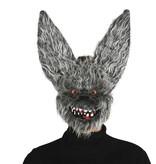 Halloween Masker Duivel Konijn voorkant