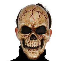Halloween Masker Schedel Donker voorkant