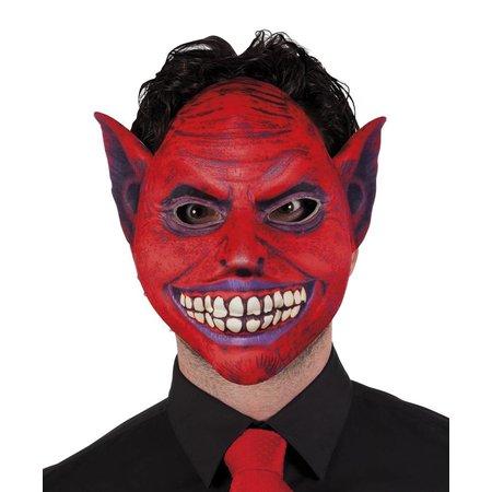 Halloween Masker Demoon voorkant