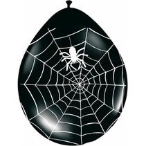 Spinnenweb Ballonnen 30cm 8 stuks