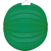 Groene Lampion Bol 23cm