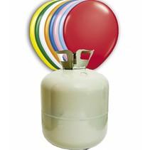 Helium Tank met 150 ballonnen en lint