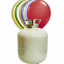 Helium Tank met 200 ballonnen en lint