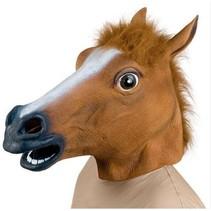 Paardenmasker volledig
