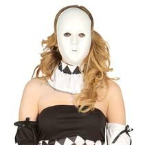 Wit Masker voorkant