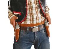 Cowboy Holsters met pistolen