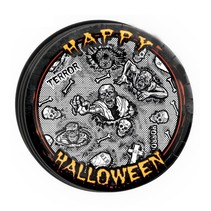 Halloween Borden Zombie 23cm 8 stuks