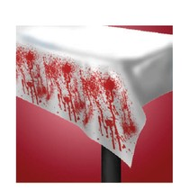 Halloween Tafelkleed Bloed 1,74 meter
