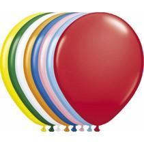 Gekleurde Ballonnen Metallic 25cm 100 stuks