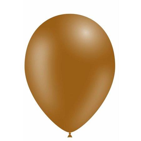 Bruine Ballonnen 30cm 10 stuks