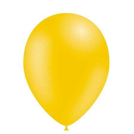 Gele Ballonnen 30cm 10 stuks