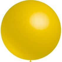Gele Reuze Ballon XL 91cm