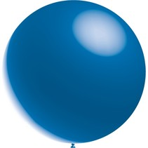 Blauwe Reuze Ballon XL Metallic 91cm