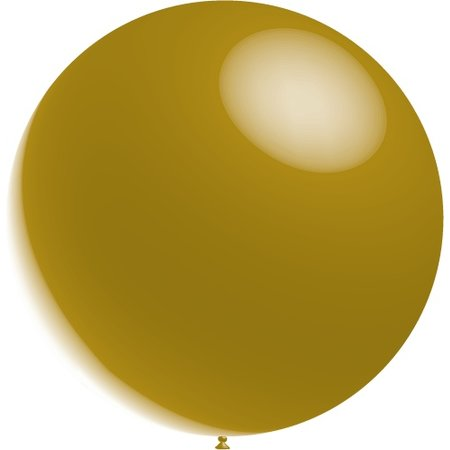 Gouden Reuze Ballon XL Metallic 91cm