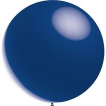Donkerblauwe Reuze Ballon XL Metallic 91cm