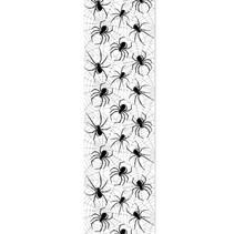 Halloween Wanddecoratie Spinnen 2,28 meter