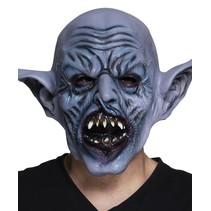 Halloween Masker Orc Deluxe volledig