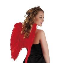 Engelen Vleugels Rood 50cm