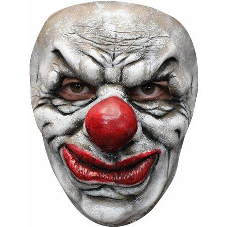 Halloween Masker Clown Old Deluxe voorkant
