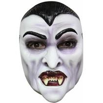 Halloween Masker Dracula Deluxe voorkant