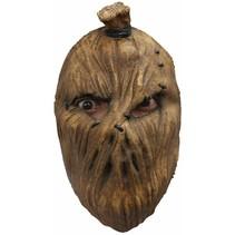 Halloween Masker Vogelverschrikker Deluxe voorkant