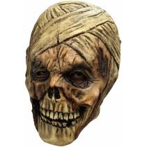 Halloween Masker Mummy Deluxe volledig