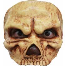 Halloween Masker Schedel Angry Deluxe half