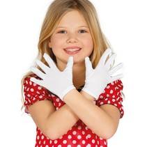 Witte Handschoenen Kind 2 stuks