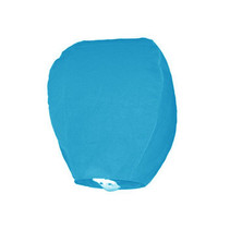 Wensballon Lichtblauw 75cm