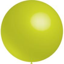 Lime Groene Reuze Ballon 60cm