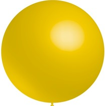 Gele Reuze Ballon 60cm
